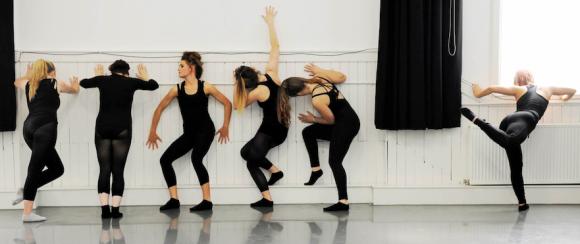 Dance BA (Hons) students